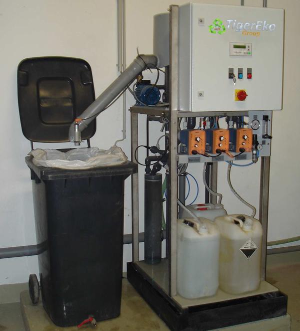AQUA-SPA 200-5000 uredjaj za odvajanje emulzije